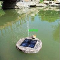 Wholesale solar floating fountain from china suppliers