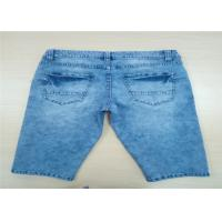 Quality 100% Cotton Light Blue Mens Short Pants Of Cool Feeling And Permeability for sale