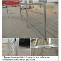 Quality 6 Bar Cattle Rail 1.8m High Cattle Panel / cattle yard panel for Australia / New Zeland / America for sale