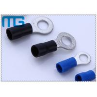Wholesale Corrosion Resistance Blue / Black Copper Ring Terminals A.W.G. 14 - 12  / 16-14 from china suppliers