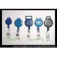Wholesale Solid plastic cable badge reel for lanyard attaching, ID badge reel with header hanging from china suppliers