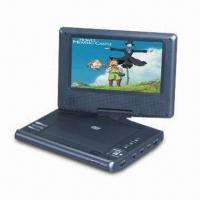 Wholesale 7-inch Portable DVD Player with Parental Lock Function, Digital Coaxial Output from china suppliers