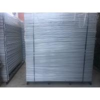 Wholesale construction site fencing panels 2.1m x 2.4m as4687-2007 standard for sale hot dipped galvanized to be 42 microns from china suppliers