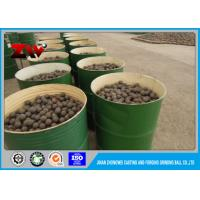 Wholesale Mineral Processing B2 grinding steel balls media forged for ball mill ISO 9001-2008 from china suppliers