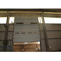 Wholesale Wind resistance steel overhead doors installation by sectional panel from china suppliers