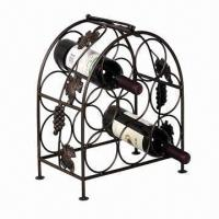 Wholesale Wine Cage/Rack, Made of Wrought Iron from china suppliers