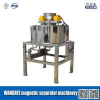 Wholesale Large Wrap Angle Double Cooling Dry Magnetic Separator For Iron Removing from china suppliers
