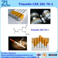 Quality 99.5%Min Triacetin(Glycerol Triacetate) Food Grade As Bonding Plasticizers For Cigarette Filters for sale