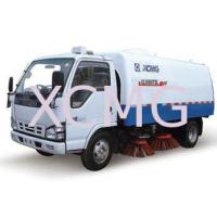 Wholesale Special Purpose Vehicles Street Sweeper Trucks For Stadium , Dock And School from china suppliers