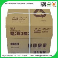 Wholesale Sample free Original Paper Copy A4 A3 Paper 80 Gsm 75 Gsm 70 Gsm Copy Paper from china suppliers