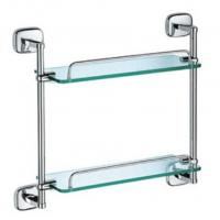 Wholesale Toilet Accessories Double Glass shelves, 2052 from china suppliers