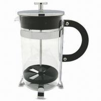 China 1,000mL Chrome-plated Chocolate Maker with Steel Lid and Frame on sale