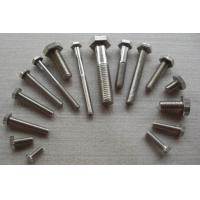 Wholesale DIN ISO ASME Hastelloy / Incoloy / 316 Stainless Steel Fasteners M24 Bolt Full Thread from china suppliers