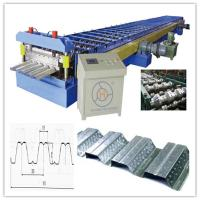 Wholesale 30KW Floor Deck Roll Forming Machine for Large Steel Structure Building Manufacturer Total 28 Stations from china suppliers