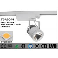 Wholesale Adjustable Track Lights 30W 2700K-3000K Spot Aluminum Die - Casting 700mA from china suppliers