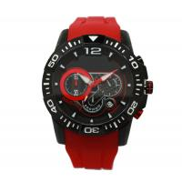 Wholesale Multifunction Red Silicone Strap Watches Sport Wrist Watch OEM from china suppliers