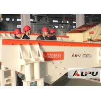 Wholesale Mining Feeding Equipment Vibrating Feeder Machine in Crushing & Screening Plant from china suppliers