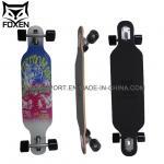 35*8 inch 7 ply canadian maple longboard 65*51MM HR 78A wheel skateboard