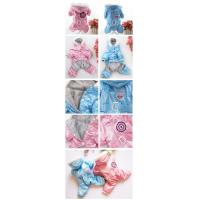 Buy cheap Blue Warm Waterproof Personalized Dog Clothes And Accessories For Small Dog from wholesalers