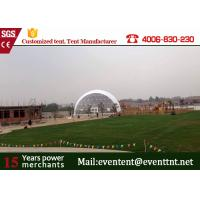 Quality 20 Meters Diameter Geodesic Dome Shelter PVC Material For Events 15 Years Guarantee for sale