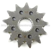 Wholesale Heat Treatment Motorcycle Front Sprocket With Safety Strength Necessary from china suppliers