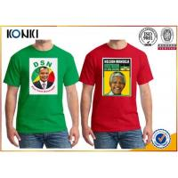 Wholesale OEM Election Campaign Custom T Shirt 100% Cotton For Election Advertising from china suppliers