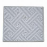 Wholesale PVC-laminated Gypsum Board with 7.0 to 12.0mm Thickness, Quake-proof and Environment-friendly from china suppliers