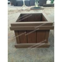 Wholesale WPC planter pot OLDA-7011B 698mm*698mm*500mm from china suppliers