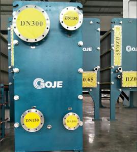 Unit Water Cooled Plate Heat Exchanger Dismountable Heavy Calibre Techbologie
