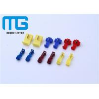 Wholesale 12 - 10 AWG Wire Connectors Yellow Color Quick Splice Wire Crimp Terminals from china suppliers