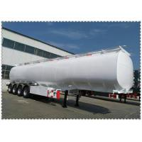 Wholesale Durable 42 cbm stainless steel tank Fuel Tanker Trailer fuel tank semi trailer from china suppliers