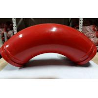 Wholesale Back Fat Elbow Casting Manganese Concrete Pump Pipe Elbow DN125*R275*90D from china suppliers