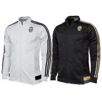Wholesale Superstar Soccer Jacket Zip Football Tracksuit White Black Juventus from china suppliers