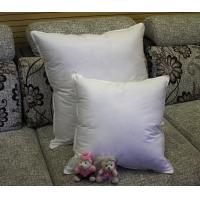 Wholesale 2cm - 4cm White Duck Feather Cotton Cushion Inserts Double Stitched Piping for Home / Hotel from china suppliers