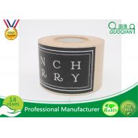 Wholesale Custom Printing Black Flood Coat Kraft Packaging Tape With Logo Design 2 Inch Wide from china suppliers