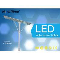 Wholesale Rural Road 100W Energy Efficient Street Lighting , Solar Panel Street Lights from china suppliers