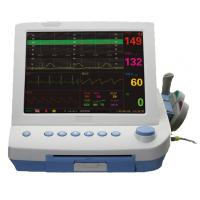 Wholesale 9 Parameters FHR. TOCO FM NIBP SPO2 MHR ECG RR TEMP portable maternal fetal monitor from china suppliers