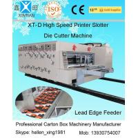 Wholesale High Precision Alloy Steel Flexo Printer Slotter Machine Automatic Carton Machine from china suppliers