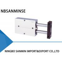 Buy cheap TN Series Twin Rod Pneumatic Cylinder Double Acting Air Tac Similar Type from wholesalers