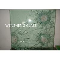 Wholesale Grinded Edges Clear Laminated Bullet Proof Glass Doors ISO / CE from china suppliers