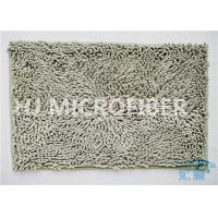 Wholesale Plush Big Chenille Rubber Backing Non-Slip Microfiber Kitchen Floor Mat Grey from china suppliers