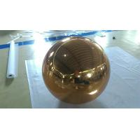 Wholesale Inflatable Gold Mirror Ball Ornaments / Inflatable Glitter Ball from china suppliers
