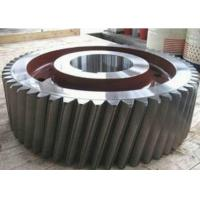 Wholesale Spare Parts CNC Machining Gears , Low Speed Cutting Cross Screw Helical Spiral Gears from china suppliers