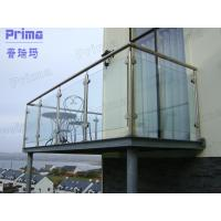 Wholesale Customized Stainless Steel Post Glass Panel Balcony Railing from china suppliers