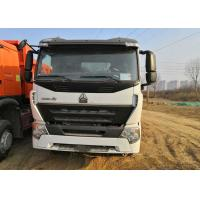 Wholesale White Howo 6x4 Tipper Truck 3 Axle Dump Truck Heavy Duty 30 Tons Loading from china suppliers