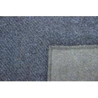 Wholesale 57 - 58cm Cotton Twill Woven Fabric , Dark Blue Flannel Twill Wool Fabric1000 Meters / Color from china suppliers