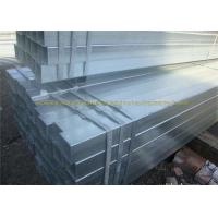 Cold Rolled Square Galvanized Tubing For Steel Structure Buildings