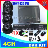 Wholesale HOT Security System/CCTV DVR Kits with 420TVL IR Waterproof Camera 4CH CEE-DVR-1004 C035 from china suppliers