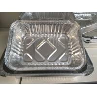Quality Catering Aluminium Container Foil , Food Carrying Metal Takeaway Containers for sale