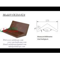 Buy cheap decking WPC board OLDA-02A 130 Degree from wholesalers